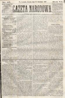 Gazeta Narodowa. 1867, nr97