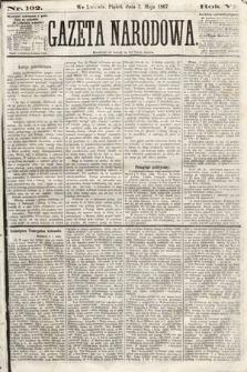 Gazeta Narodowa. 1867, nr102