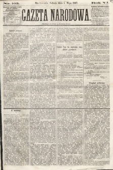 Gazeta Narodowa. 1867, nr103