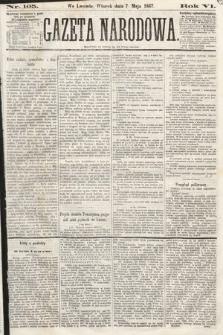 Gazeta Narodowa. 1867, nr105