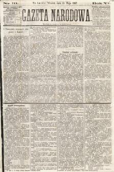 Gazeta Narodowa. 1867, nr111