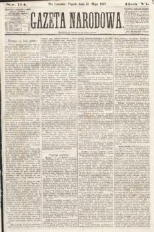 Gazeta Narodowa. 1867, nr114