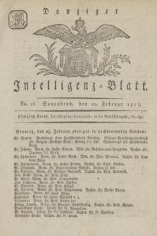 Intelligenz-Blatt für den Bezirk der Königlichen Regierung zu Danzig. 1817, No. 16 (22. Februar) + dod.