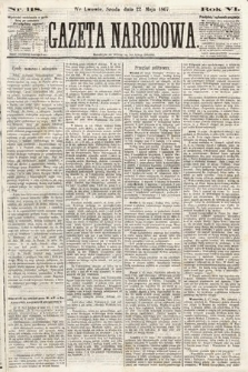 Gazeta Narodowa. 1867, nr118