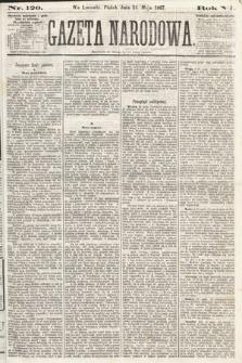 Gazeta Narodowa. 1867, nr120