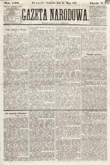 Gazeta Narodowa. 1867, nr122