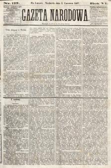 Gazeta Narodowa. 1867, nr127