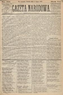 Gazeta Narodowa. 1867, nr153