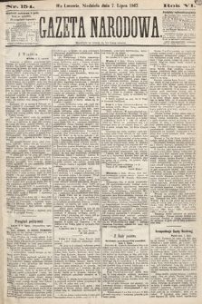Gazeta Narodowa. 1867, nr154