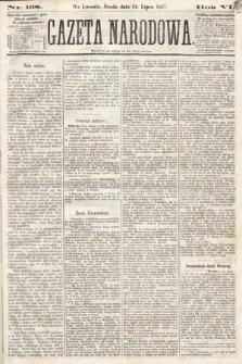 Gazeta Narodowa. 1867, nr168