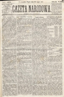 Gazeta Narodowa. 1867, nr170