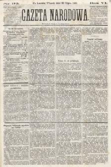 Gazeta Narodowa. 1867, nr173