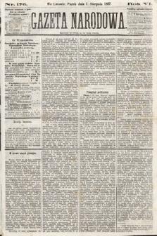 Gazeta Narodowa. 1867, nr176