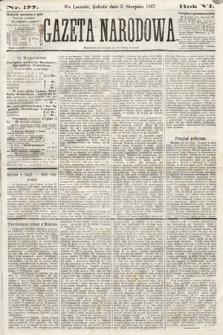 Gazeta Narodowa. 1867, nr177