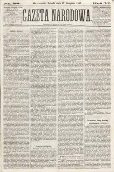 Gazeta Narodowa. 1867, nr188