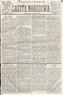 Gazeta Narodowa. 1867, nr190