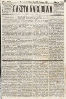 Gazeta Narodowa. 1867, nr193