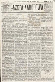 Gazeta Narodowa. 1867, nr198