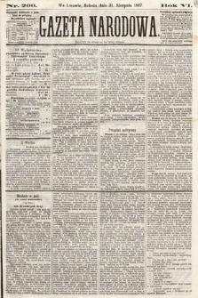 Gazeta Narodowa. 1867, nr200
