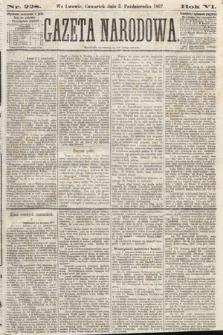 Gazeta Narodowa. 1867, nr228