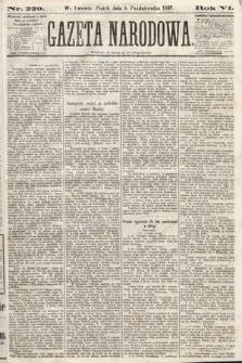 Gazeta Narodowa. 1867, nr229