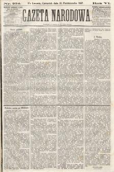 Gazeta Narodowa. 1867, nr234