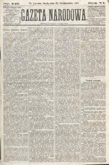 Gazeta Narodowa. 1867, nr245