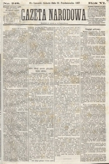 Gazeta Narodowa. 1867, nr248