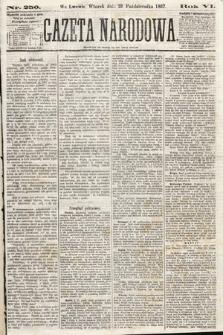Gazeta Narodowa. 1867, nr250