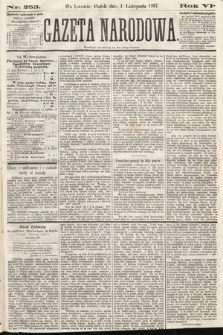 Gazeta Narodowa. 1867, nr253