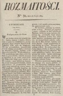 Rozmaitości : oddział literacki Gazety Lwowskiej. 1824, nr30