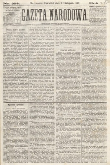 Gazeta Narodowa. 1867, nr257