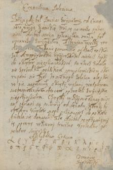 Zadania szkolne z 1628 r. pisane w gimnazjum Nowodworskiego w Krakowie