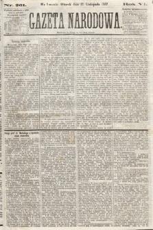 Gazeta Narodowa. 1867, nr261