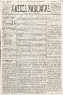 Gazeta Narodowa. 1867, nr265