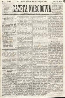 Gazeta Narodowa. 1867, nr266