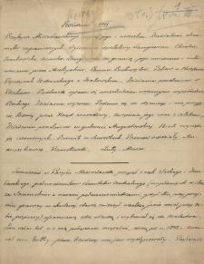 """""""Zapiski o powstaniu 1863 i 1864 r. i poprzedzającej powstanie epoce demonstracyi od 1856 roku."""" T. 3"""