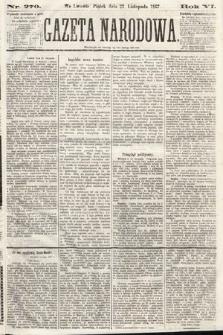 Gazeta Narodowa. 1867, nr270