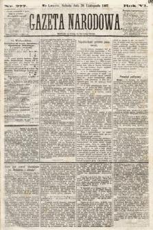 Gazeta Narodowa. 1867, nr277