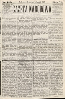 Gazeta Narodowa. 1867, nr280