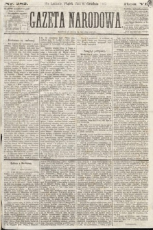 Gazeta Narodowa. 1867, nr282