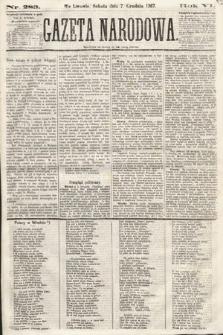 Gazeta Narodowa. 1867, nr283