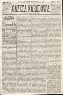 Gazeta Narodowa. 1867, nr288