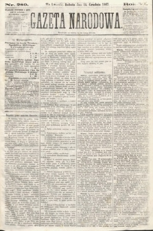 Gazeta Narodowa. 1867, nr289