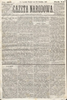 Gazeta Narodowa. 1867, nr292