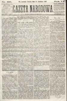 Gazeta Narodowa. 1867, nr295