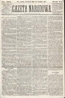 Gazeta Narodowa. 1867, nr296
