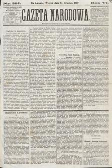 Gazeta Narodowa. 1867, nr297