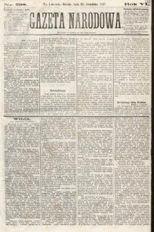 Gazeta Narodowa. 1867, nr298