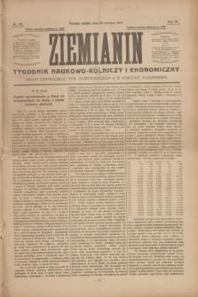 Ziemianin : tygodnik naukowo-rolniczy i ekonomiczny : Organ Centralnego Tow. Gospodarczego w Wielkiem Księstwie Poznańskiem. R.64, nr 26 (28 czerwca 1913)